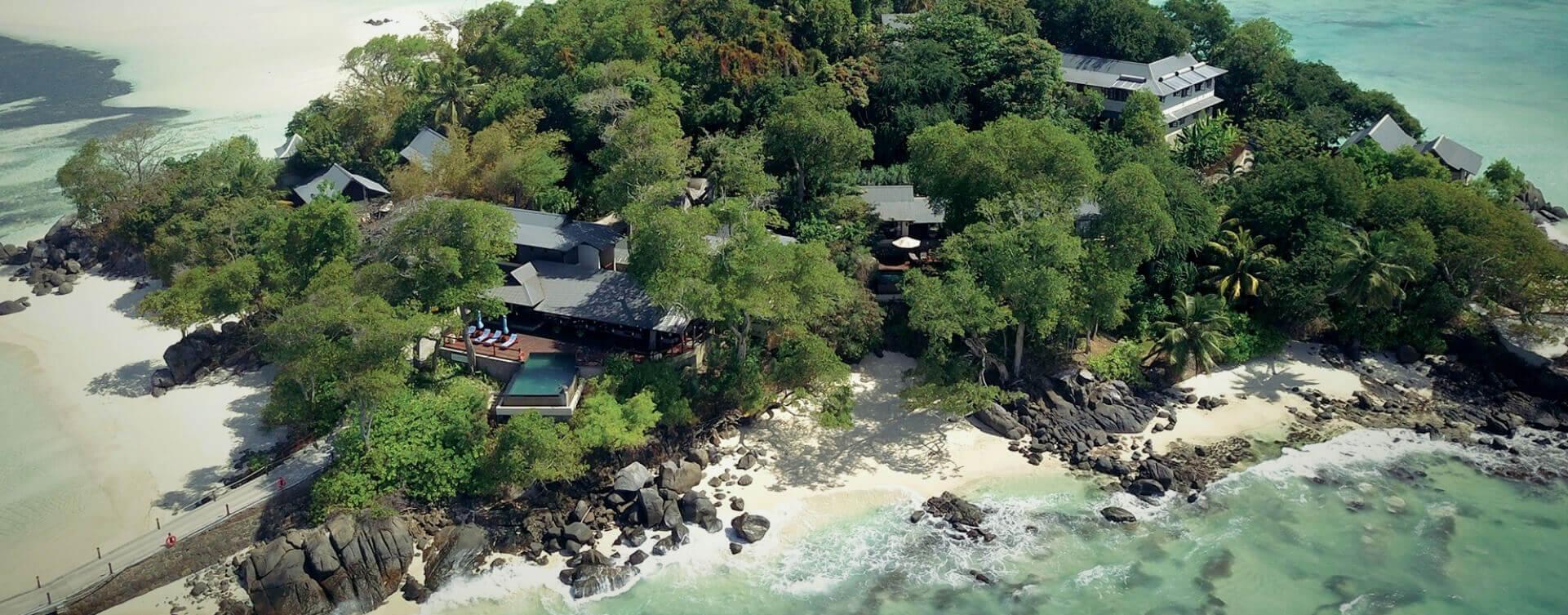Aerial View Of JA Enchanted Island Resort