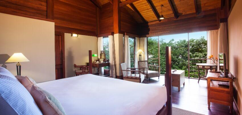 Bedroom with Outdoor Views