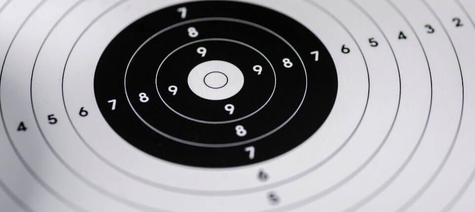 Target at Shooting Range
