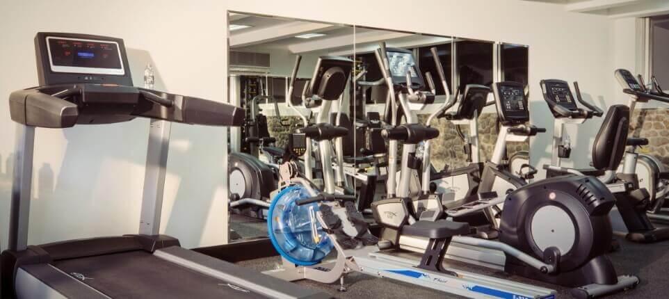 Treadmill and Indoor Bikes