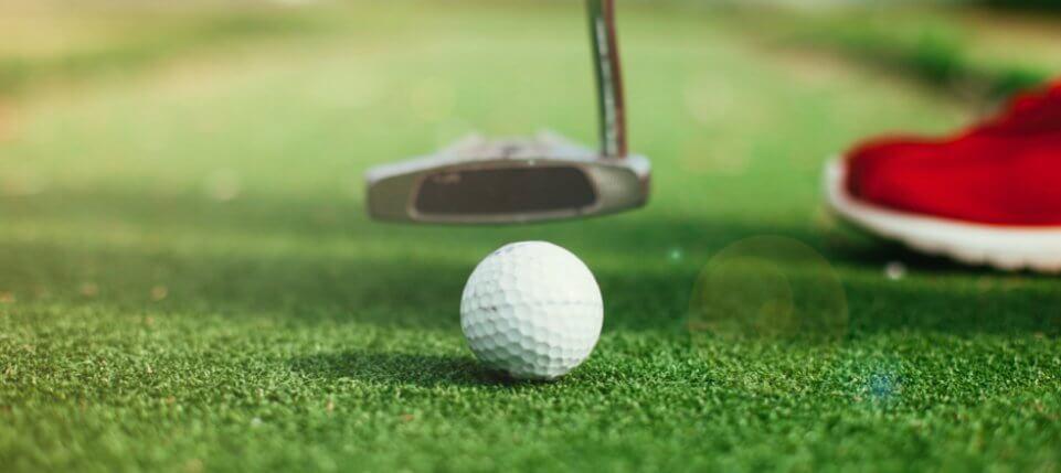 Golf Putter and Ball