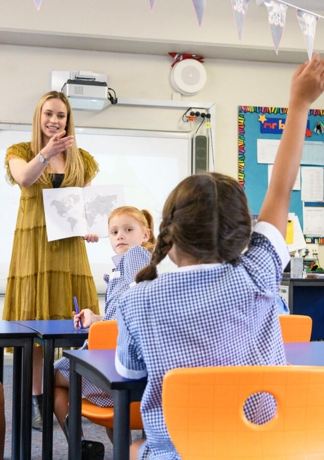 Teacher Calling on a Student