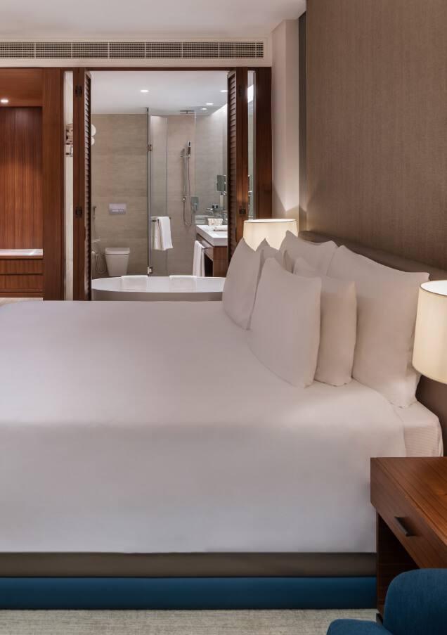 King Bedroom in New Dubai Suite