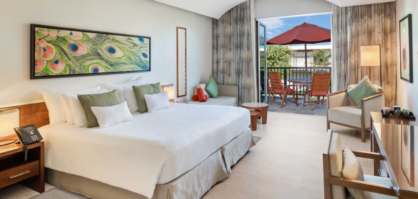 King Junior Suite with Private Balcony