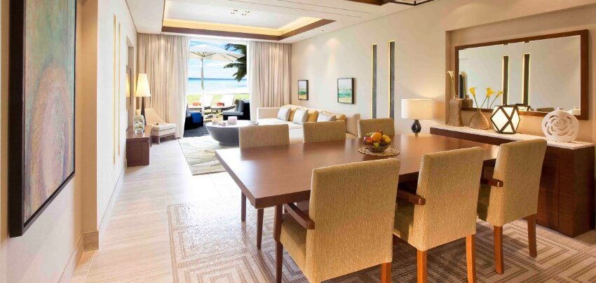 Resort Suite Living And Dining Area