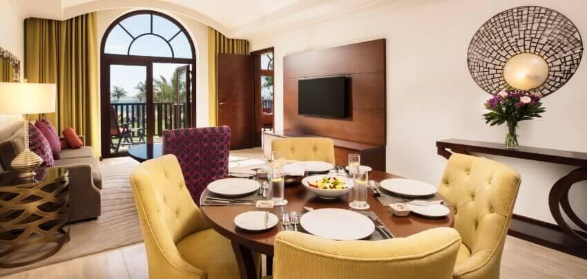 Sea View Suite Living Area