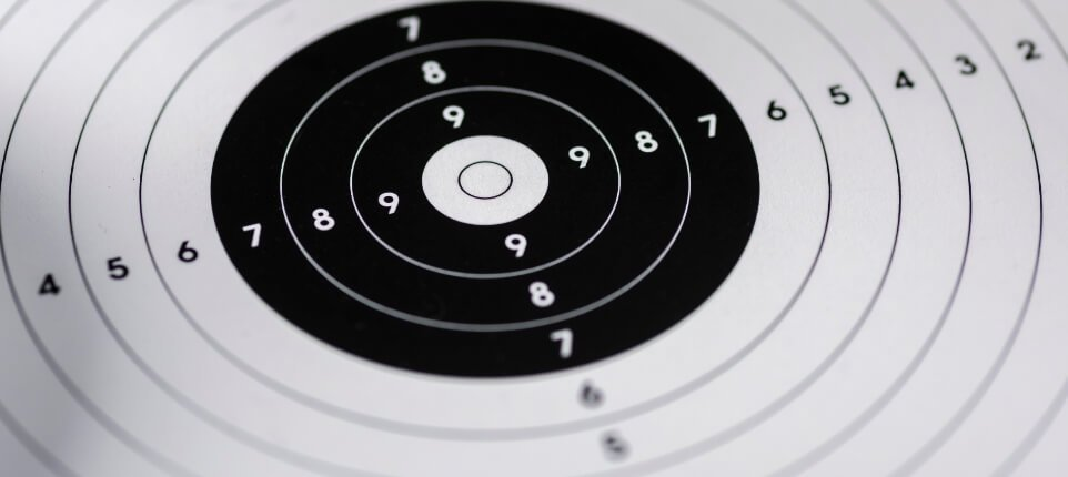 Target at Shooting Range