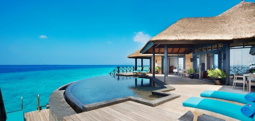Infinity Pool Deck on Water