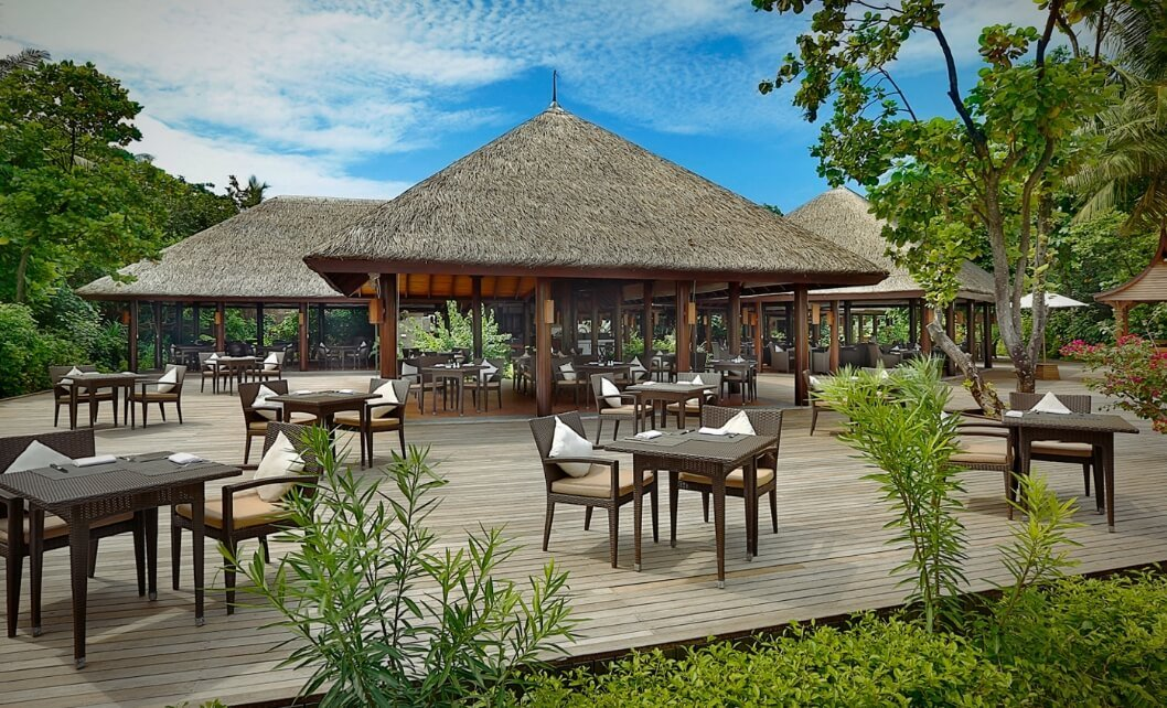 Outdoor Maldives Restaurant
