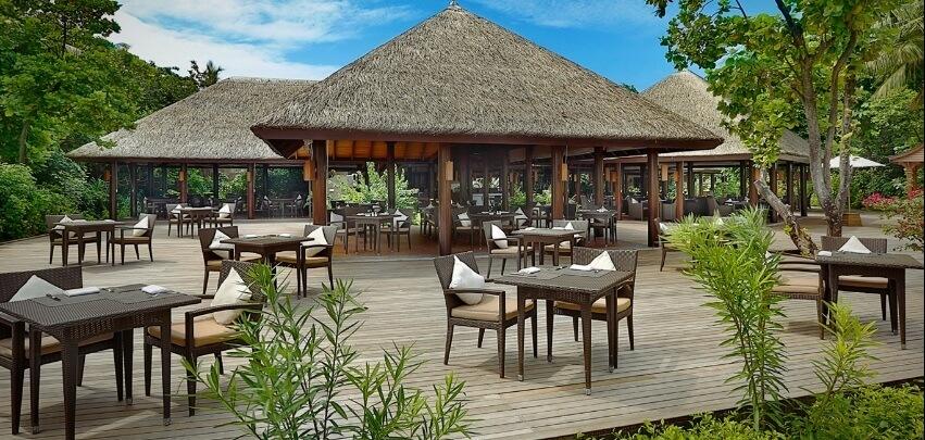 Outdoor Maldives Restaurant