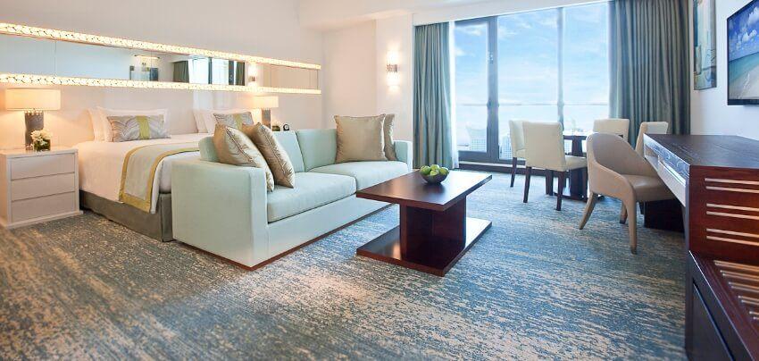 Dubai Hotel Suite with Ocean View