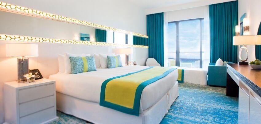 Bright Sea View Hotel Room