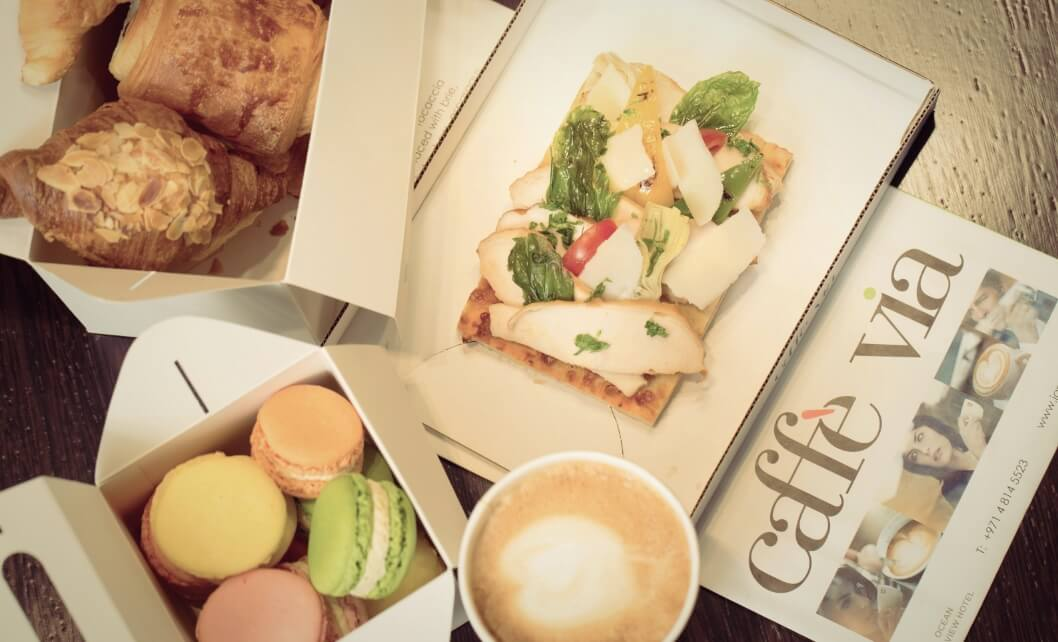 Café Via Food And Drinks