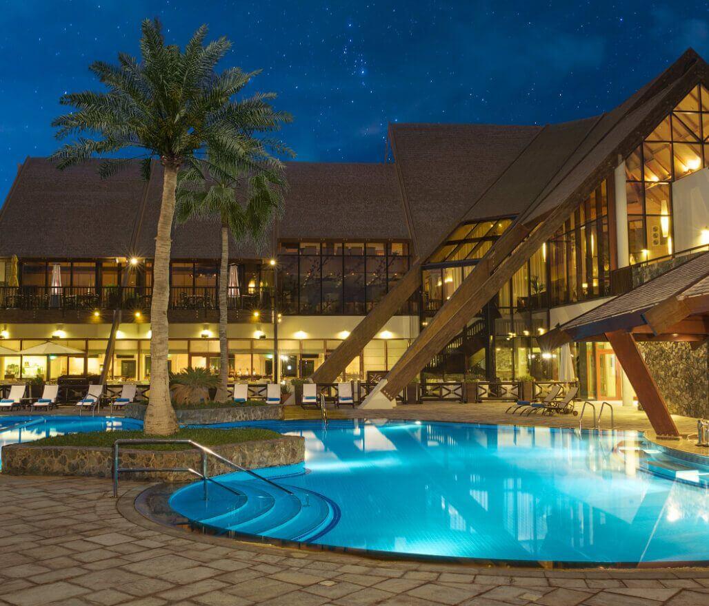 JA Palm Tree Court Pool
