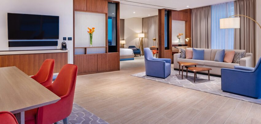 New Dubai Suite Living Room
