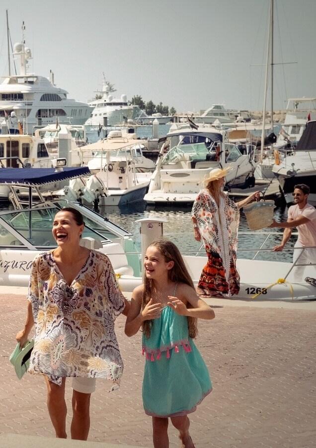 Family At Marina